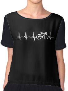 BICYCLE HEARTBEAT Chiffon Top