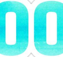 2000 Watercolor Sticker