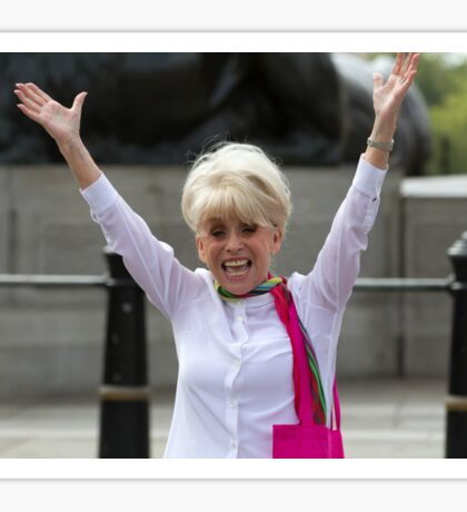 Dame Barbara Windsor DBE joins Mayor's Team London Ambassadors to show London is open to all Sticker