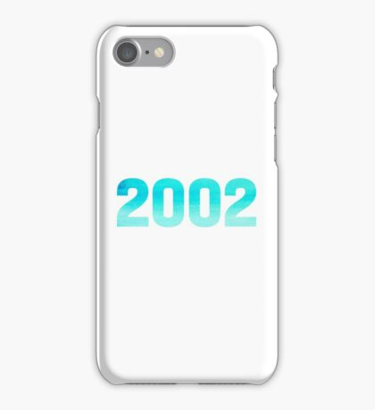 2002 Watercolor iPhone Case/Skin