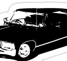 """""""Driver picks the music"""" - Dean Winchester Quote Print Sticker"""