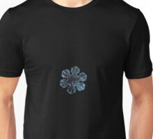 The core, snowflake macro photo Unisex T-Shirt