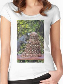 Extermi-Nut! Women's Fitted Scoop T-Shirt