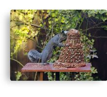 Extermin-Nut! Canvas Print