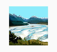 Dart River, Glenorchy by Ira Mitchell-Kirk Unisex T-Shirt