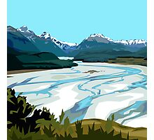 Dart River, Glenorchy by Ira Mitchell-Kirk Photographic Print
