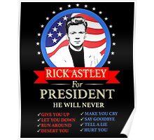Rick Astley Poster