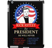 Rick Astley iPad Case/Skin
