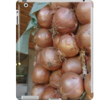 How's about them onions iPad Case/Skin