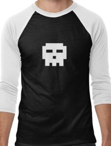 Scott Pilgrim - Pixel Skull Men's Baseball ¾ T-Shirt