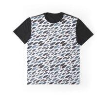 Indigo shoal pattern Graphic T-Shirt