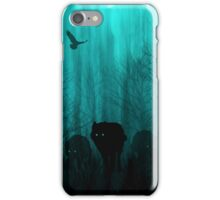 Wolf Pass: Full Moon Zenith iPhone Case/Skin