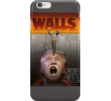 Walls(Trump) iPhone Case/Skin