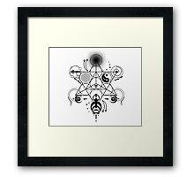 Sacred Crops -Black Framed Print