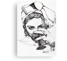 Madonna 7 Canvas Print