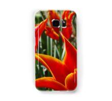 Fiery flowers Samsung Galaxy Case/Skin