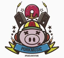 Porkmusic Vector Kids Clothes