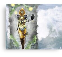 Risen again [Digital Fantasy Figure Illustration] Metal Print
