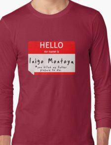 Introduction to Inigo Long Sleeve T-Shirt