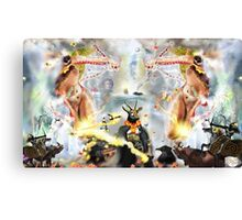 Universe 2 [Digital Fantasy Figure Illustration] Canvas Print
