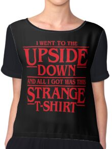 I Went to the Upside Down Chiffon Top