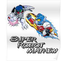 Japanese Beast Wars Optimus Prime vs Megatron Poster