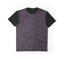 Veins - Dark Plum Graphic T-Shirt