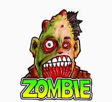 ZOMBIE title with zombie head Unisex T-Shirt