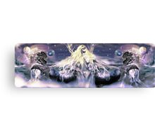 Universal reversal [ Midnight Ocean version ] Digital Fantasy Figure Illustration Canvas Print