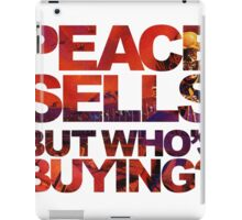 Megadeth - Peace Sells But Who's Buying ? iPad Case/Skin