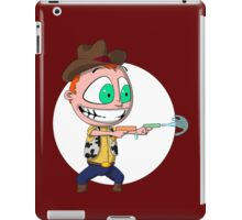 Cowboy of Squirtyness iPad Case/Skin