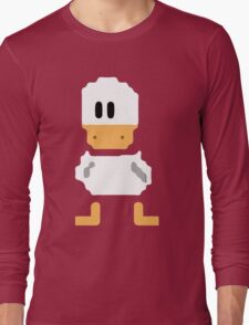 Cute simple Duck Long Sleeve T-Shirt