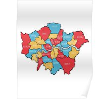 City of London Map Poster