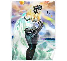 Universia of Galacticus [Digital Fantasy Figure Illustration] Poster