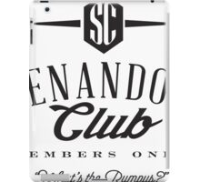 Shenandoah Club iPad Case/Skin