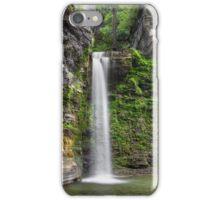 Eagle Cliff Falls Plunge iPhone Case/Skin