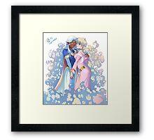 Voltron - Allura & Nia Framed Print
