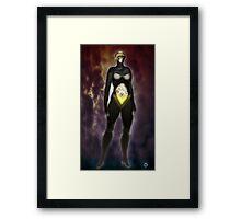 The Sentinel [Digital Fantasy Figure Illustration] Framed Print