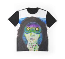 Masked Space Princess Graphic T-Shirt