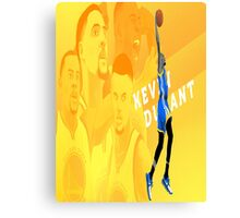 Kevin Durant - Golden State Warriors Canvas Print