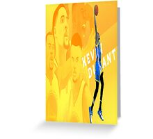 Kevin Durant - Golden State Warriors Greeting Card