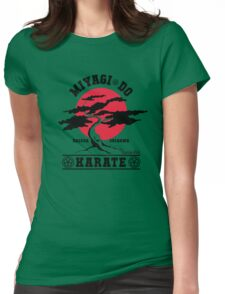 Karate Kid - Mr Miyagi Do Red Variant Womens Fitted T-Shirt