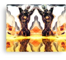 Do Androids dream of the Electric deep? [Digital Fantasy Figure Illustration] Canvas Print