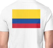 Columbian Flag, Flag of Colombia. Latin America, Pure & Simple. Unisex T-Shirt