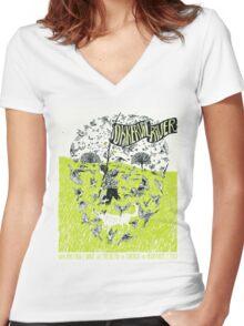 Okkervil River Women's Fitted V-Neck T-Shirt