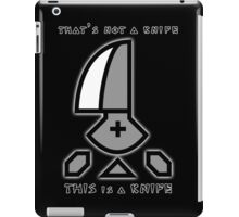 Monster Hunter Throwing Knife iPad Case/Skin