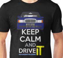 Keep Calm and Drive IT - cod. 190e-25-16v-evo-II Unisex T-Shirt