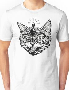 'Psychedelic Cat' Unisex T-Shirt