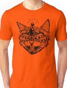 'Psychedelic Cat' Unisex T-Shirt