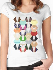 Costume Patchwork | Hamtilton Women's Fitted Scoop T-Shirt